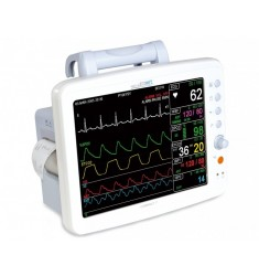 Compact 7 - Patientenmonitor mit EKG, NiBP, SpO2, CO2 Respiration