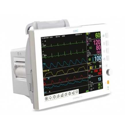 Compact 9 - Patientenmonitor mit NIBP, EKG, Pulsfrequenz, SpO2