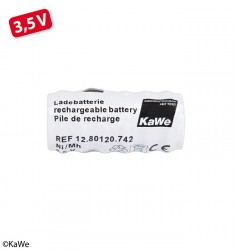 Ladebatterie (kurz) aufladbar 3,5 V NiMH