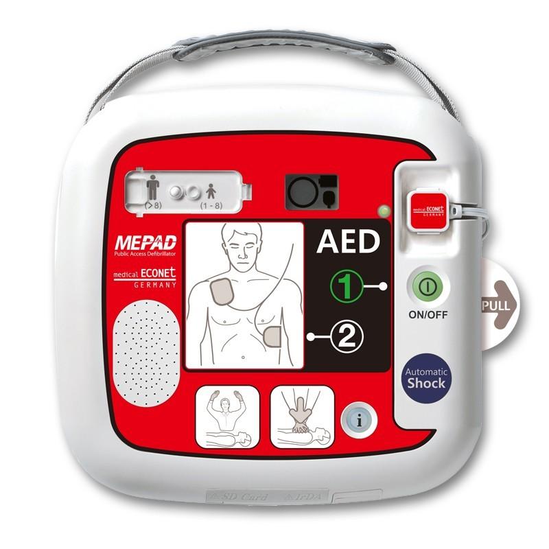 Vollautomatischer Externer Defibrillator ME PAD Automatic