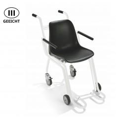 Geeichte Stuhlwaage mit Lenkrollen ADE M400020-01