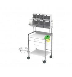 Injektionswagen für Impfungen HAEBERLE Variocar 60
