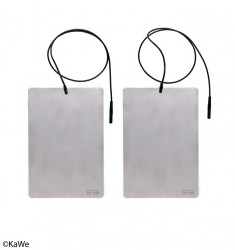 Elektroden-Platten inkl. Kabel für lontophorese-Gerät SWI-STO