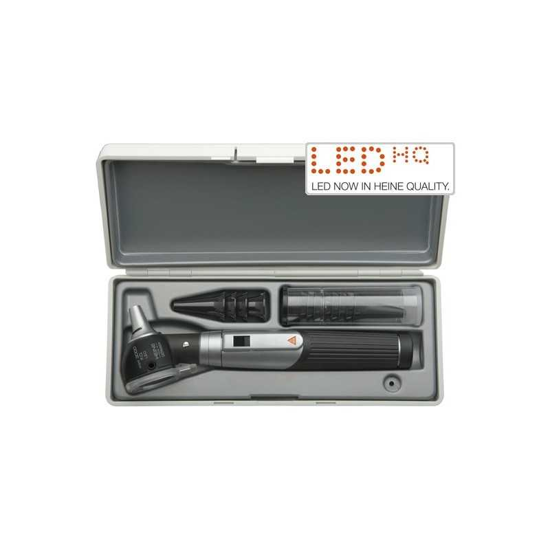 HEINE mini 3000 LED F.O. Otoskop Set