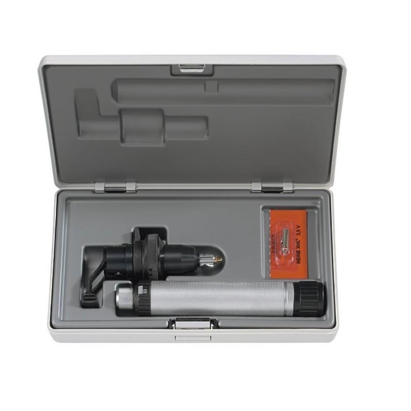 HEINE LAMBDA 100 Retinometer mit Dezimalskala Set