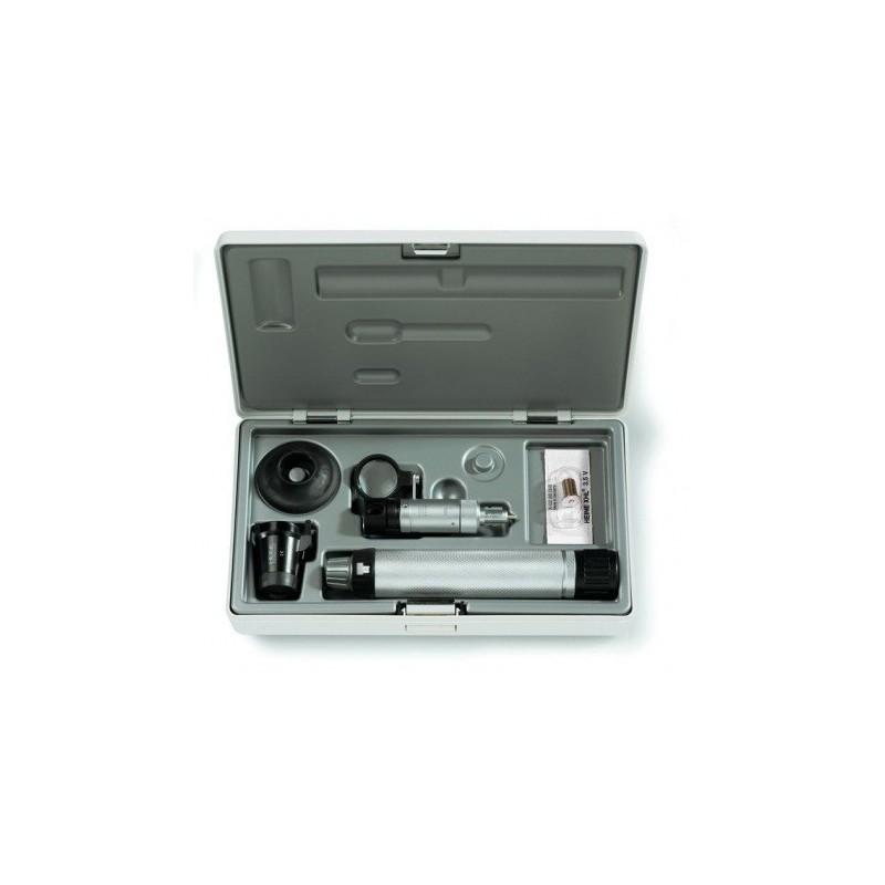 HEINE HSL 150 Handspaltlampe Set mit HSL 10 x Lupenaufsatz
