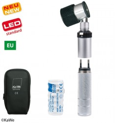 KaWe Dermatoskop Set EUROLIGHT D30 LED aufladbar in Steckdose
