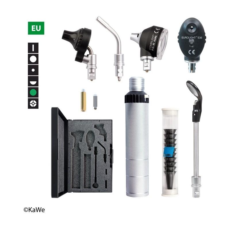 KaWe Diagnostik-Set COMBILIGHT F.O.30 / E36 (Grünfilter)