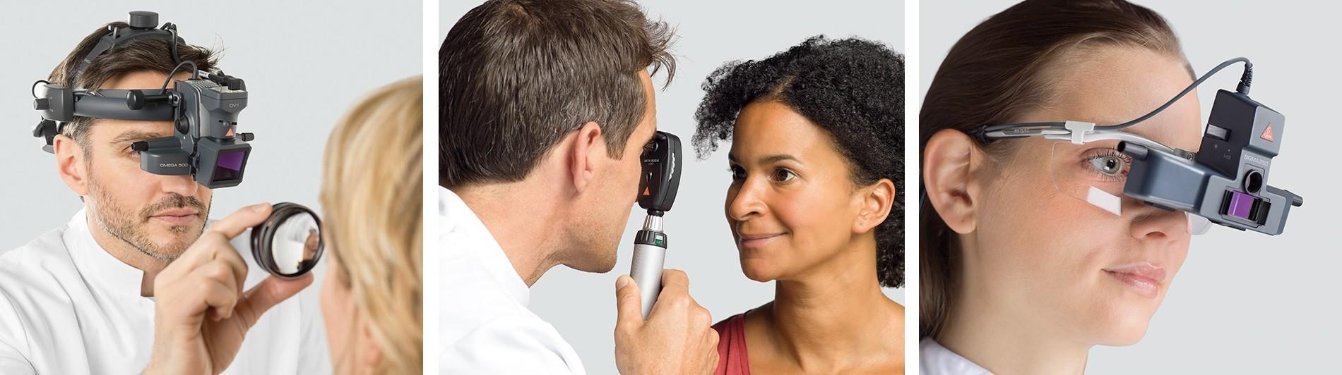 Ophthalmoskopie, Retinoskopie und mehr.
