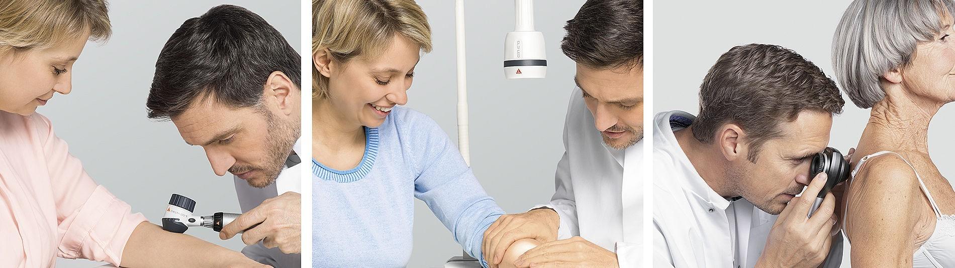 Dermatoskopie  und Haut-Screening